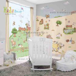 www.kidsdecor.ir -پرده اتاق کودک