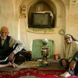 یادش بخیر اون زمونا چه حال خوشی داشتیم با پدربزرگ مادر بزرگامون