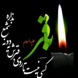 به شیعیان حضرتش تسلیت میگم