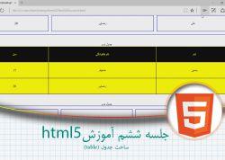6- جلسه ششم آموزش html5 http://www.esfandune.ir/T9KFP #آموزش #برنامه_نویسی #طراحی_سایت