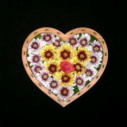 یه قلب پر از گل تقدیم به همه ی ایرانیان عزیز