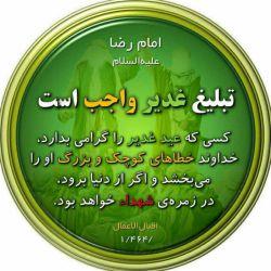 عید غدیر خم برهمه دوستان عزیز لنزوری .مبارک باشه. ان شا الله همیشه براتون عیدباشه وشادباشید.