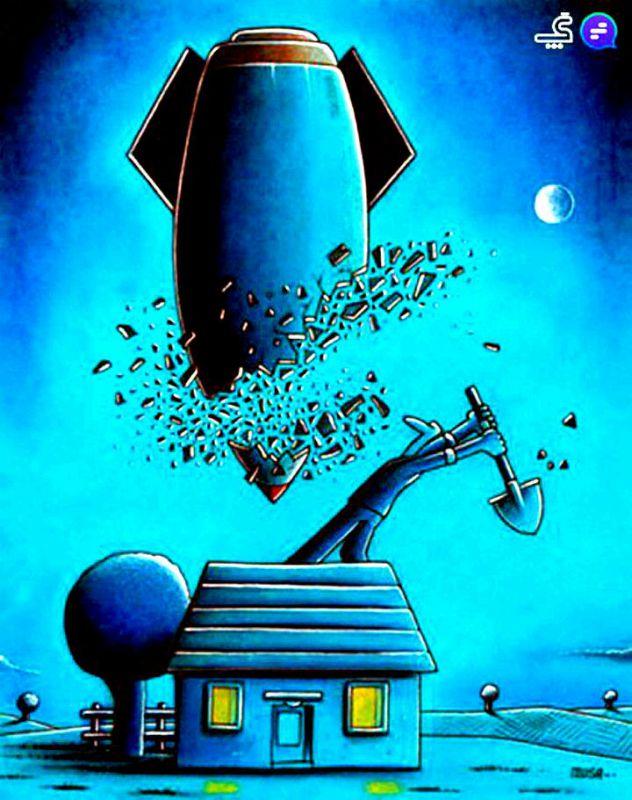 ⚠ از خانه و خانوادهتان در برابر بمبهای نامرئی جنگ نرم، محافظت کنید...