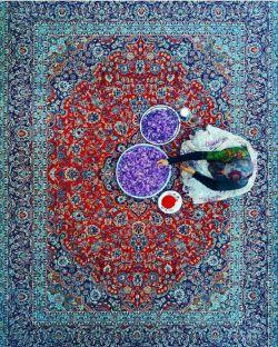 Iranian Carpet & Iranian Saffron