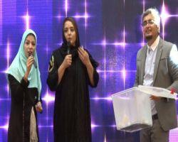 نرگس محمدی در ویژه برنامه ماه در ماه رادیو کورش