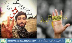 ما را مدافعان حرم آفریده اند, شهید محسن حججی