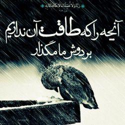 #معبودا گناه و سرکشی ما از نادانی ماست نه از توانایی ما،پس #ببخش و سخت نگیر بر ما ای# مهربانترین مهربانان
