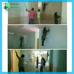 #مرحله_دوم تعمیر و مرمت و رنگ آمیزی داخل ساختمان مدرسه کمیل دوزه سیمکان توسط بنیاد خیریه موج مهربانی خیر: دفتر فنی و مهندسی چهارمعمار #همراهیتان_بی_نظیر_است t.me/mojmehrbani1 Mojmehrbani.ir