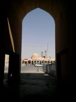 جاتون خالی اصفهان..دورنماس مسجد جامع اصفهان نماد اعلای معماری اسلامی-ایرانی