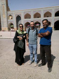 گردش گران ایتالیایی ایران براشون زیبا جلوه کرده بود. خودشون میگفتند.