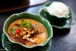 یک غذای خوشمزه تایلندی