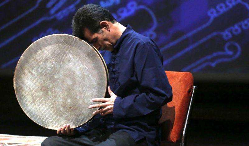 دف نوازی در جشنواره ملی موسیقی جوان