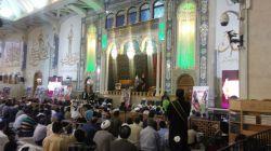 یادواره شهدا ،حرم حضرت معصومه با حضور خانواده شهید حججی