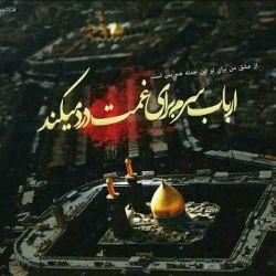 اصلا گروه خونی من خاک کربلاست، آقا به جز شما به کسی خون نمی دهم... السلام علیک ایها الازباب یا ابا عبدالله الحسین (ع)