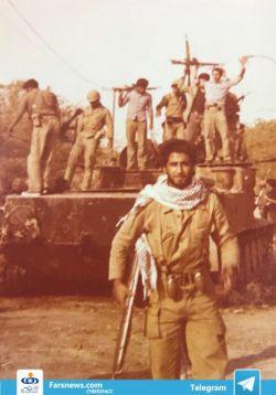 حمید معصومی نژاد، خبرنگار صدا و سیما در ایتالیا، در دوران جنگ