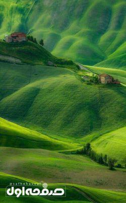 قطعهای از بهشت در توسکانی، ایتالیا