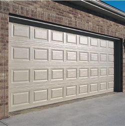 درب سکشنال - پنل سفید قاب دار - الوتک آلمان - شرکت نوین گیت http://www.novingate.com/automatic-doors-sectional/