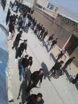 چغا/مراسم روزعاشورای محرم96-عکاس:منصور حبیبی