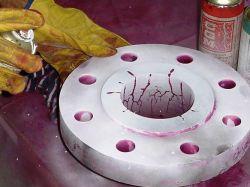آزمون غیرمخرب مایعات نافذ (Dye Penetration Testing [PT]) -  پایگاه ولدیکا : مرجع دانش جوشکاری  www.Weldica.com