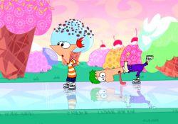 انیمیشن فینیس و فرب در جشن زمستانی  www.filimo.com/m/aWTfY
