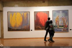 نمایشگاه آثار نقاشی در فرهنگسرای نیاوران