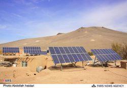 استفاده از پنل خورشیدی در روستاها به جای برق