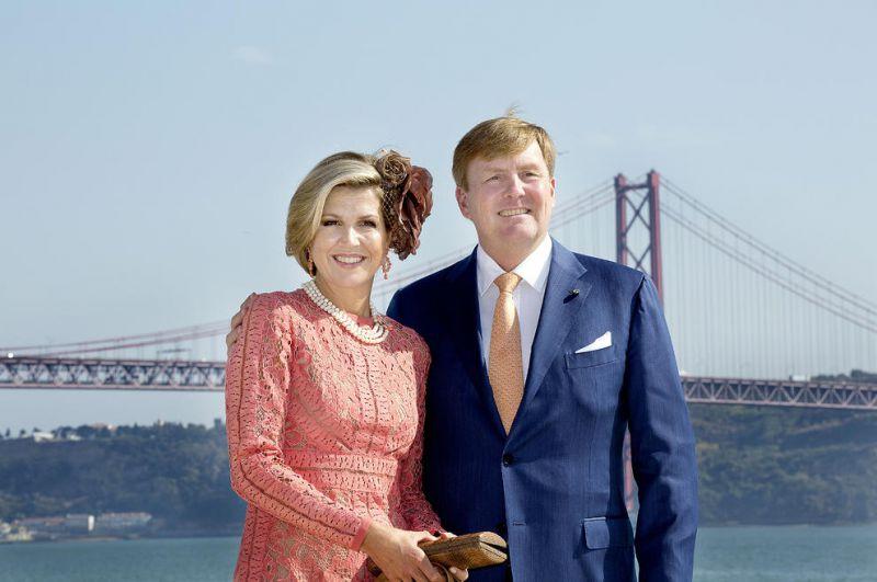 پادشاه و ملکه هلند در سفر رسمی 3 روزه به شهر لیسبون پایتخت پرتغال