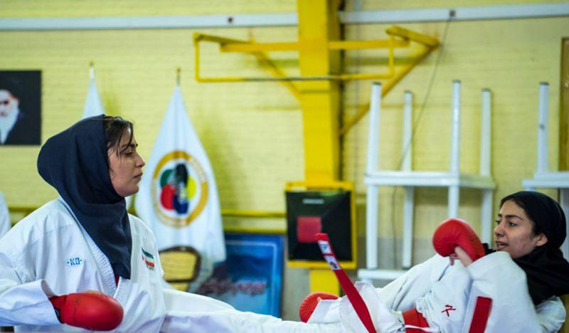 اردوی تیم ملی امید کاراته بانوان