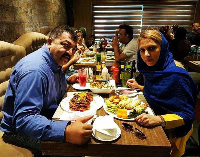 احمد ایراندوست که در گذشته محافظ شخصی جنیفر لوپز بود، به همراه همسرش