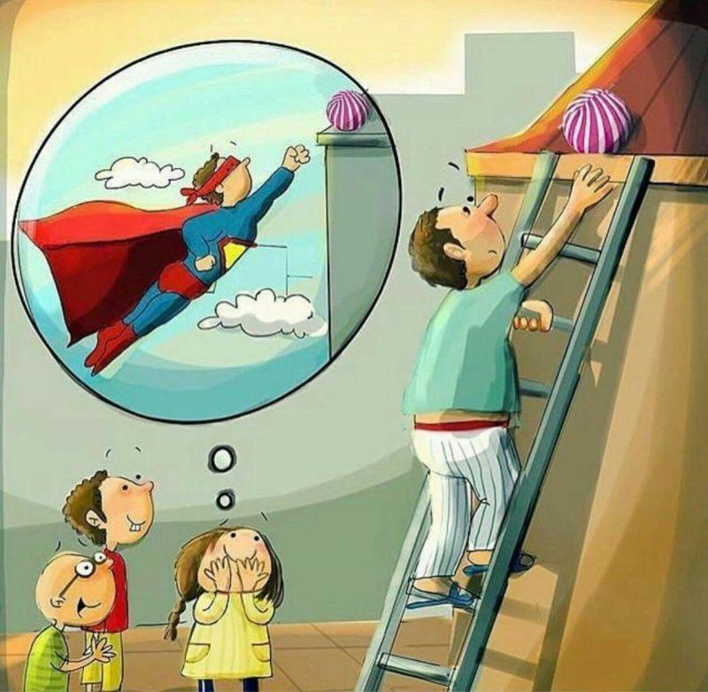 عجب دنیایی است دنیای کودکان