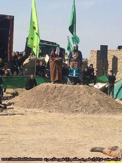 شبیه خوانی هیئت قمر بنی هاشم (ع) شهرستان مرند - عاشورای 1396- تله زینبیه