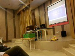 حضور دکتر روانشناس خانم نعمتی در جلسه حضوری با اولیا