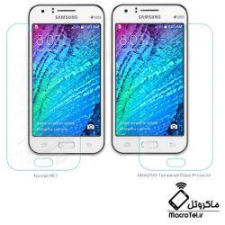 محافظ صفحه نمایش شیشه ای نیلکین Samsung Galaxy J1