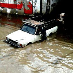 اینم حادثه امروز روز سه شنبه که با بارون شدید تو استان مازندران آمل