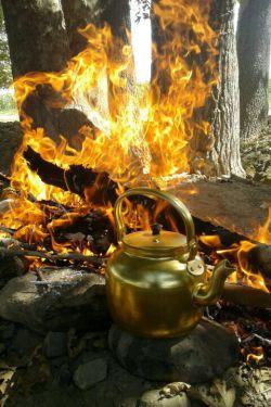 چای میچسبد اما با تو