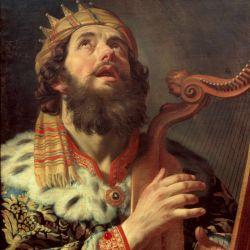 داوود نبى پادشاه دوم اسرائیل شاعر بود و صداى بسیار زیبایى داشت. یهودیان معتقدند نوازنده بزرگى بود؛ سعدی در باب وی می گوید :  آتشی از سوز دل در دل داوود بود تا فلک می رسد بانگ مزامیر او