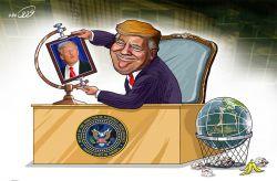 آقای #خودشیفته  #ترامپ #آمریکا