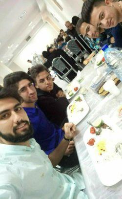 سالن غذا خوری حضرتی مشهد  خدا قسمت همه بکنه