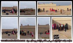 تصاویری از مراسم شبیه خوانی اربعین سال 1396 - هیئت فرهنگی مذهبی قمر بنی هاشم(ع) شهرستان مرند