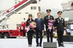 عشقم در کنار رییس جمهور کره جنوبی