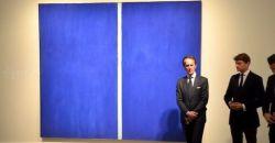 همین صفحه آبی رو میبینید ؟!  این یه نقاشی از بارنت نیومنه که تو یک حراجی ۴۳.۸ میلیون دلار فروخته شد!   خدایا بسه دیگه، خسته شدیم...