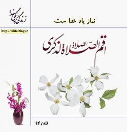 نماز مایه آرامش در زندگی است  زندگی به رنگ خدا http://islife.blog.ir