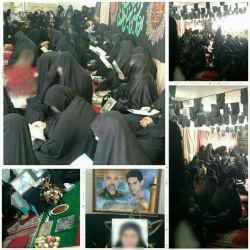 """برگزاری مراسم روز سوم درگذشت """"مادر شهیدان احمدلو"""" در مسجد آل یاسین.   @al_yassin"""