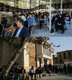 صف مردم #تهران برای اهدای #خون به #زلزله زدگان  #محبت زیباست.. #انسانیت زیباست.. #همدلی زیباست..