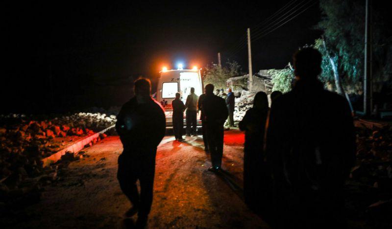 وضعیت روستاهای غرب کشور در نخستین شب پس از زلزله کرمانشاه
