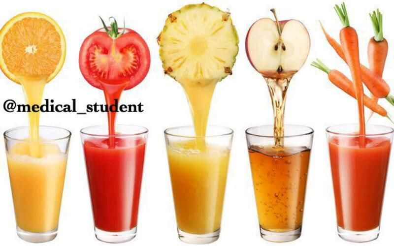 بهترین زمان برای درمان چاقی، جوش صورت و کبد چرب، قبل از صبحانه است  درمان کبد چرب : آب هویج درمان چاقی : آب کرفس درمان جوش : آب سیب