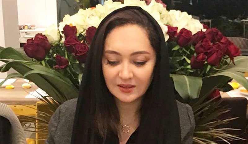 نیکی کریمی  در جشن تولدش