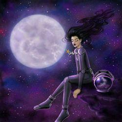 دختر باس عاشق ماه باشه