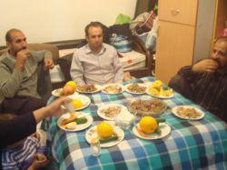 شب نشینی در روستای باباپیر//