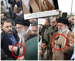 نمونه هایی دیگر از لباس ضد گوگله آستین دار رهبری، که کانال ضدانقلاب مدعی شده است  #سواد_رسانه_ای